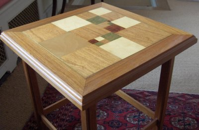 Squared square table