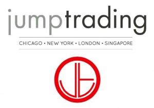 Jump Trading logo white